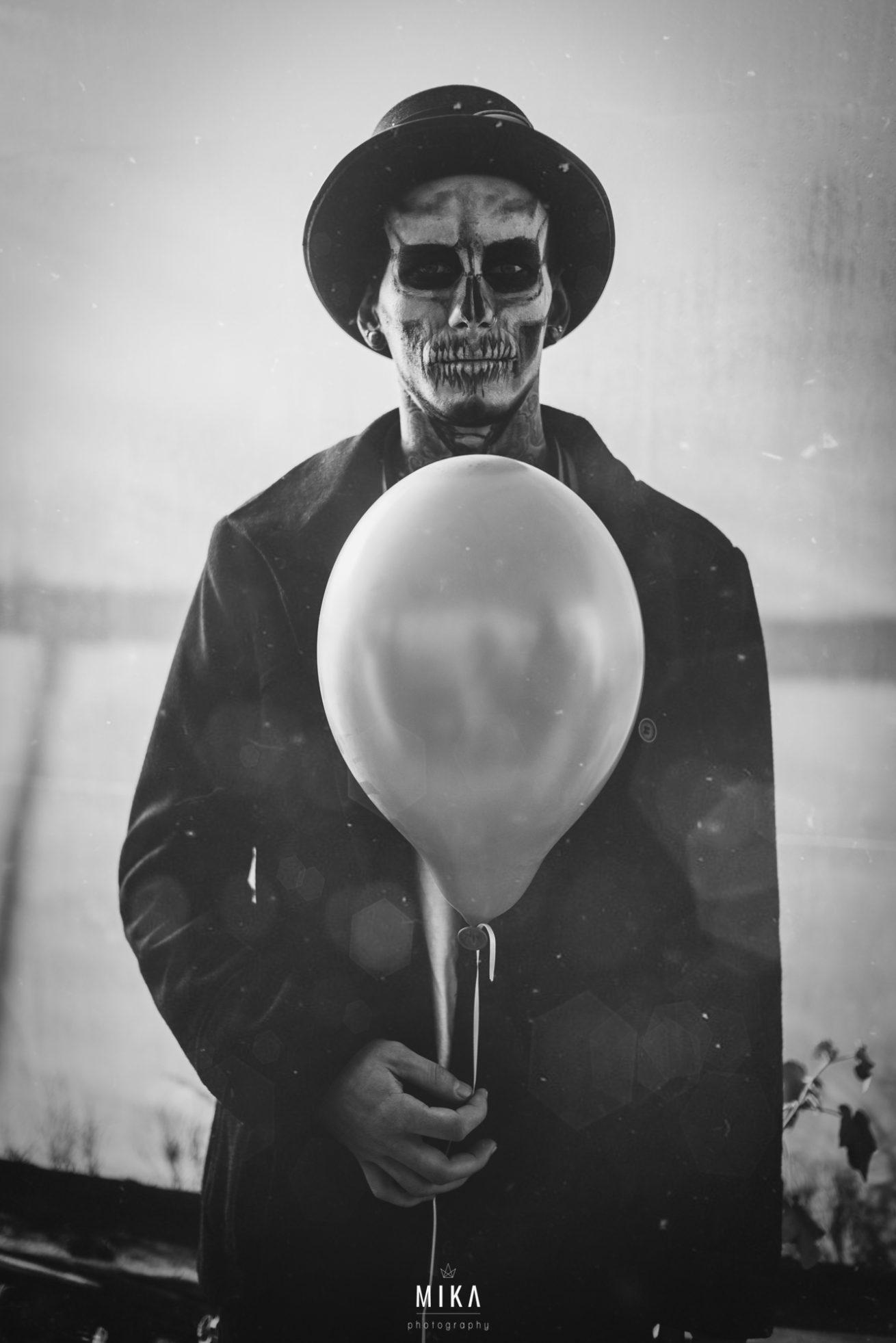 The Balloon Boy entstand bei einem gemeinsamen Shooting mit Frauke Dollinger.