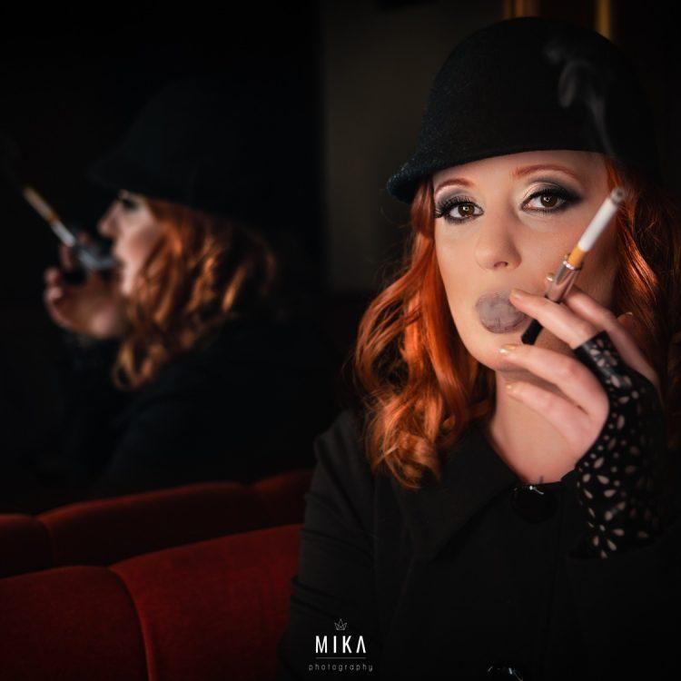 Zara Alunkanija als Dunkelelfe